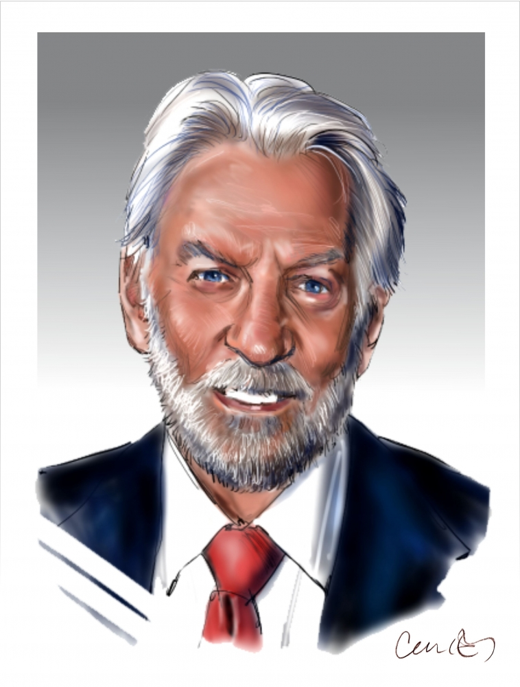 Donald Sutherland by Roger_Curley